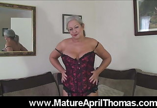 April Thomas Dildo Fuck