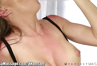 Fantasy Massage Masseuse Milking Cock with her Deepthroa