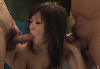 hairy pussy Sayuri Ito needs more than a dick for the orgasm