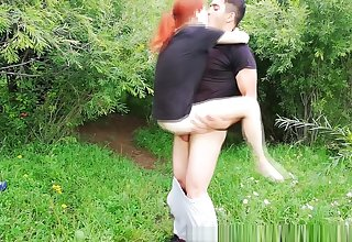 Sex with cute Niki Shu in the woods