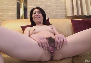 Mature asian Nobuko Tachikawa inventiveness hard and long friend's cock